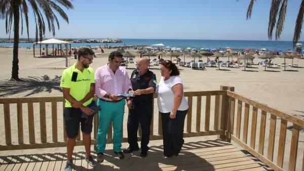 Campaña Marbella playa segura