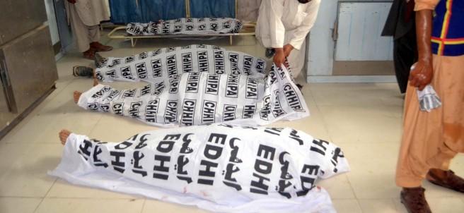 Atentado durante acto electoral Pakistán