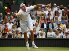 John Isner en Wimbledon