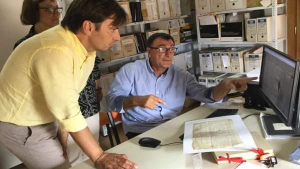 Proyecto de catalogación y digitalización de fondos históricos