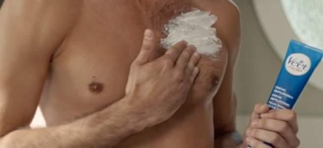 Afeitado corporal.