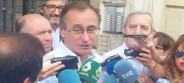 El Presidente Del PP Vasco, Alfonso Alonso, en una imagen de archivo