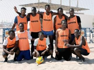 El equipo Cruz Roja, Boza FC