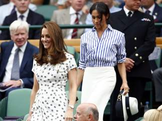 Primer acto juntas de las duquesas de Cambridge y Sussex
