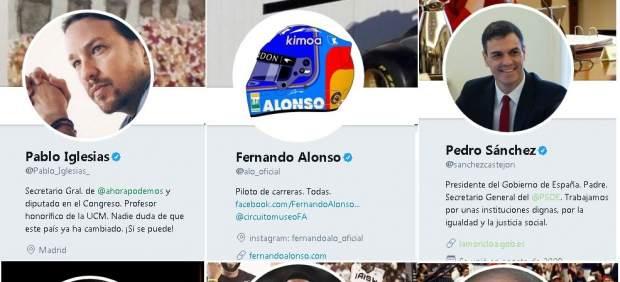 ¿Cuántos seguidores han perdido los famosos en Twitter tras la limpieza de cuentas falsas?