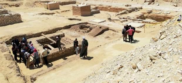 Una torre de 2.500 años, clave para estudiar cómo momificaban a los faraones en el Antiguo Egipto
