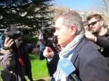 José Ramón Iglesias Mazaira, a su salida del juzgado en marzo de 2014