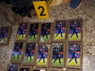 Cocaína con la imagen de Neymar