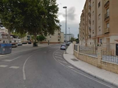 Vista de la Calle Felipe el Hermoso de Vélez-Málaga