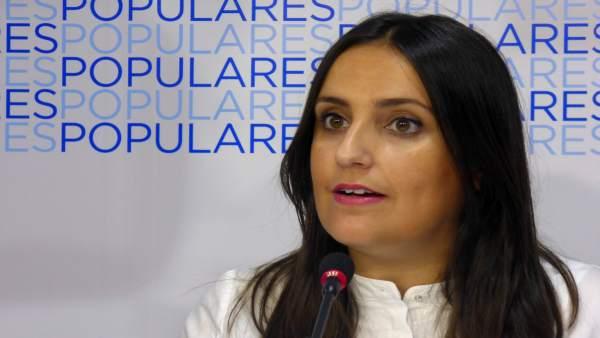 La coordinadora general del PP de Córdoba, Beatriz Jurado