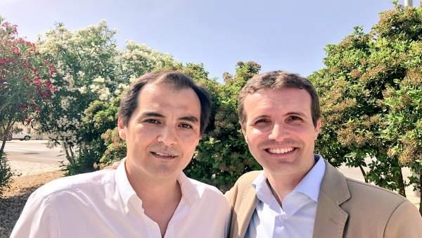 José Antonio Nieto y Pablo Casado