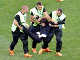 Espontáneos de Pussy Riot en la final del Mundial