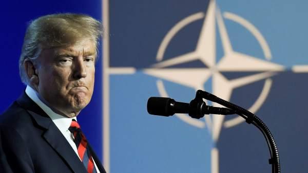 Trump, en Bruselas