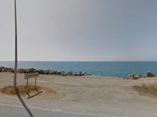 Vista de la playa de Chilches, en Vélez-Málaga