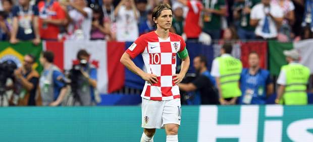 Modric, Balón de Oro del Mundial; Mbappé, mejor joven; Courtois, mejor portero y Kane, Bota de Oro
