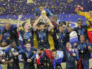 Francia, campeona