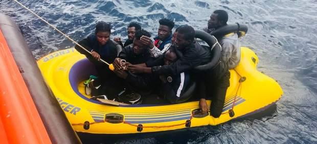 Más de 850 inmigrantes rescatados este fin de semana en las costas andaluzas