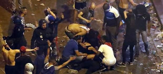 Disturbios y destrozos en Francia en la celebración del título del Mundial