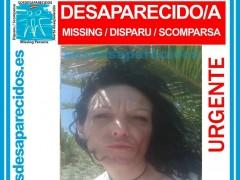 Imagen difundida de la mujer de 35 años desaparecida en Ibiza