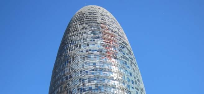 Torre Agbar De Barcelona, En Glòries, De Jean Nouvel