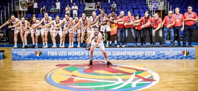 Las sub-20 logran su cuarto título europeo