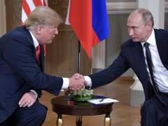 Trump y Putin ya están reunidos en Helsinki