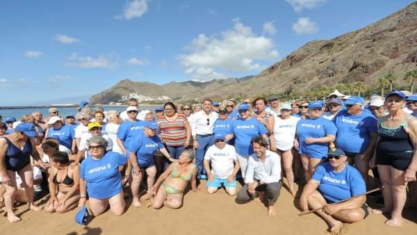 [Grupocanarias] Nota De Prensa Y Fotografías: Ansina Playa De Las Teresitas