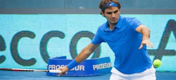 Roger Federer Mutua Open Madrid Tenis
