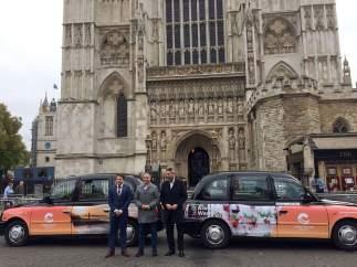 Bendodo taxis Costa del Sol en Westmister Londres Maldonado Mijas WTM