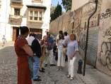 Visita del grupo municipal del PP de Granada