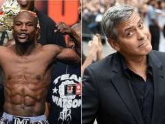 Mayweather y Clooney, los famosos mejor pagados