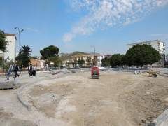 Obras avenida Palmilla