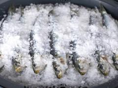 Sardinas a la sal: receta en Thermomix