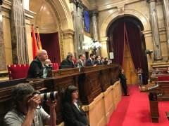 Los letrados del Parlament proponen sustituir temporalmente a los diputados suspendidos