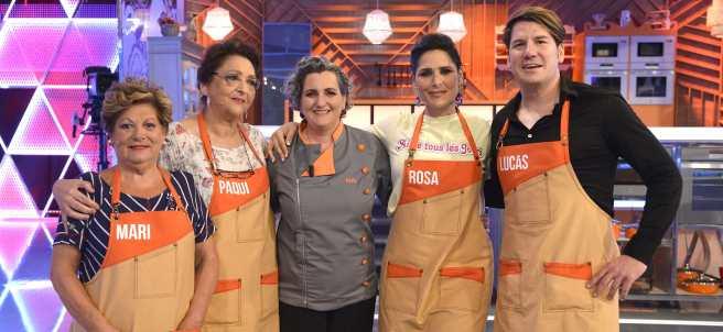 Concurso 'Mi madre cocina mejor que la tuya'