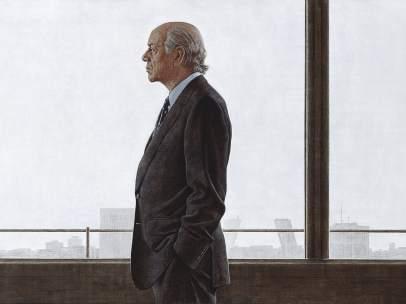 Cortés. Retrato acrílico de Francisco González. 2004-2007