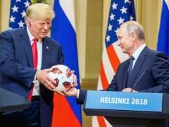 Trump desacredita a sus servicios de inteligencia delante de Putin