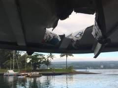 Al menos 23 heridos al caer una 'bomba de lava' en un barco turístico en Hawái