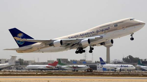 Aerolínea saudí