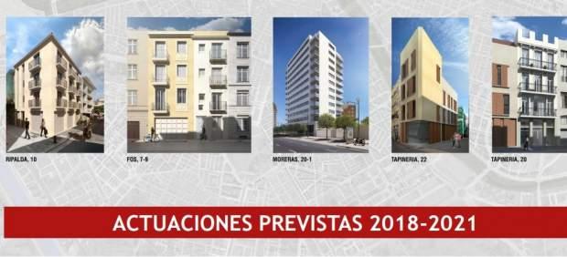 València construirá 177 viviendas públicas de alquiler en tres años