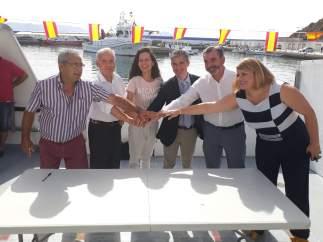 Firma de convenio lucha contra basura marina