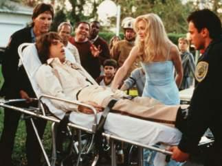 Que Ben Stiller se cayera de la camilla no estaba en el guion