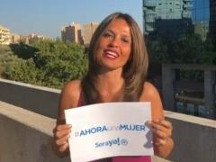 Santamaría se suma a la ola feminista con un vídeo que la ve como la primera presidenta del Gobierno