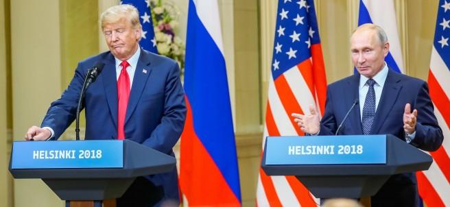 Trump y Putin en Helsinki