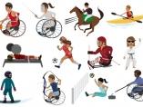 Emojis paralímpicos