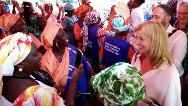 Teresa Laespada en Senegal