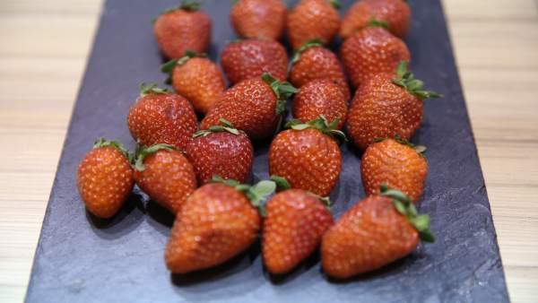 Frutas, fresa, fresas