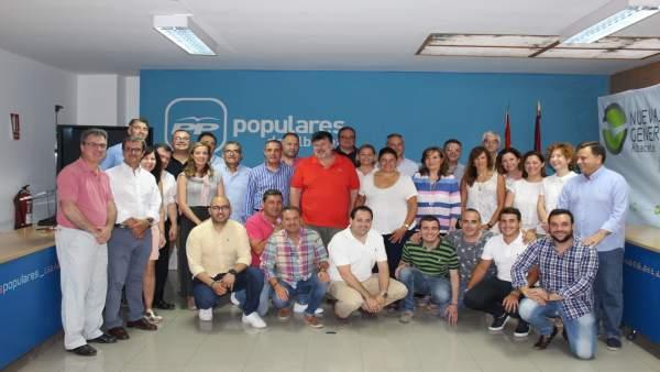 Compromisarios PP Albacete