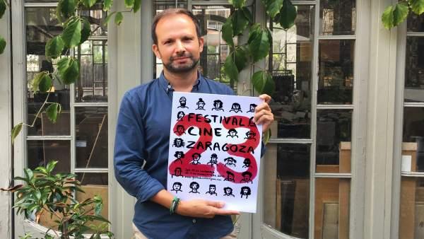 El cartel ganador que anunciará el Festival de Cine de Zaragoza