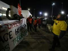 En libertad los dos detenidos en una carga policial durante la huelga de Amazon